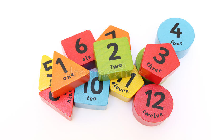 Download Numbers stock photo. Image of wooden, four, colors, numbers - 25960908