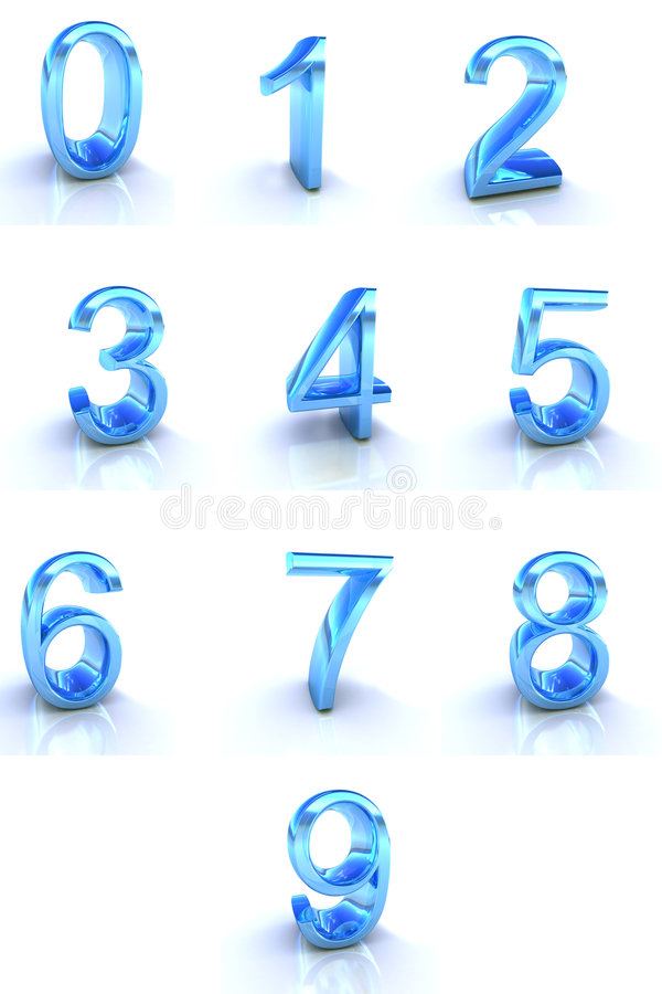 Free Numbers Royalty Free Stock Image - 7274566