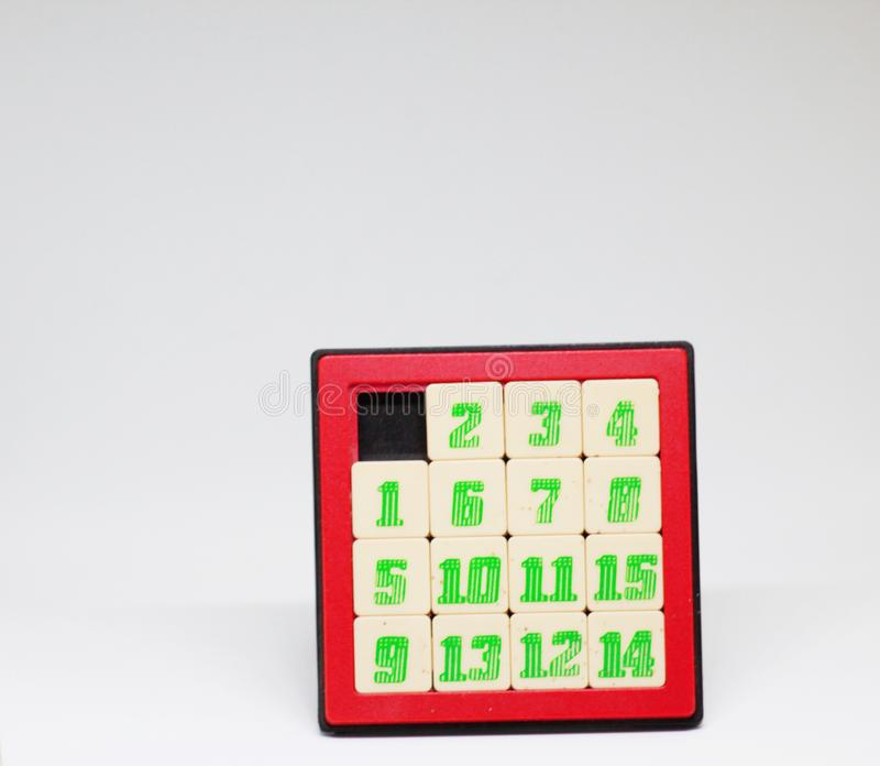Numbers Baby toys stock photography