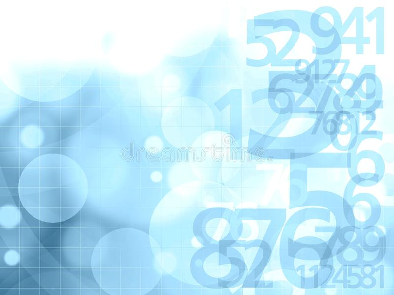Download Numbers background stock illustration. Image of background - 24939526