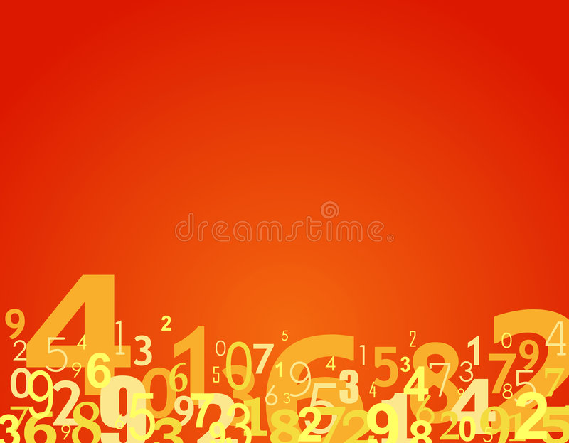 Download Numbers background stock illustration. Image of texture - 6298109