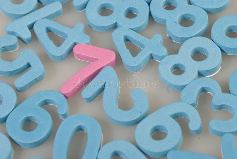 Numbers of foam