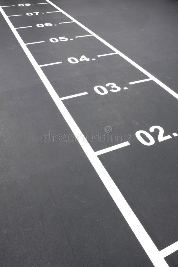 Free Numbers On Floor Royalty Free Stock Photography - 109010797