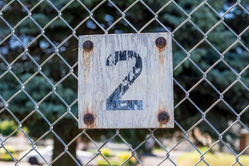 numer ilustracyjny znak dwa wektora zdjęcia royalty free