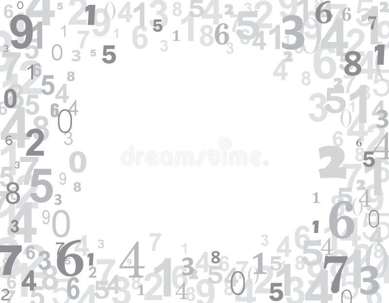 Numeri illustrazione di stock