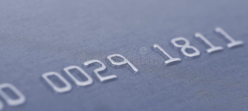 Numeri di carta di credito fotografia stock libera da diritti