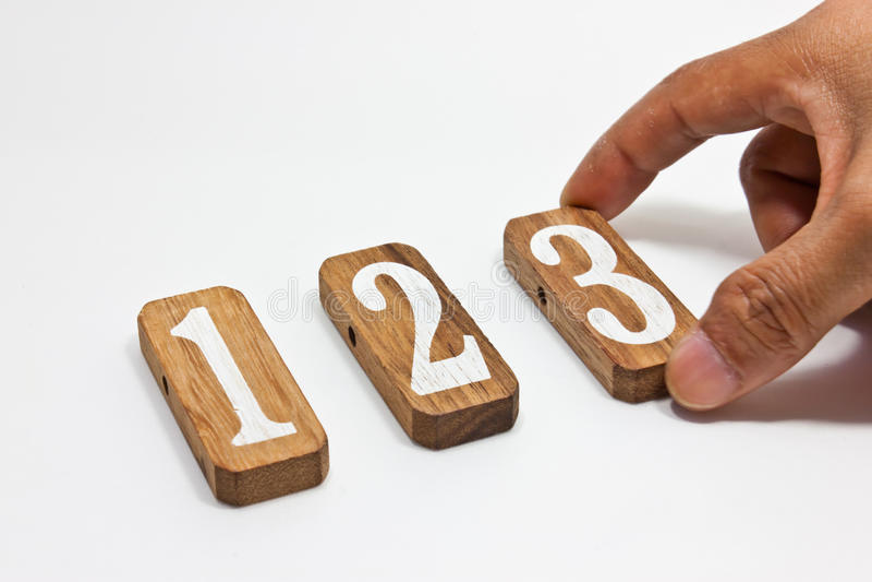 Numeri di specie fotografia stock