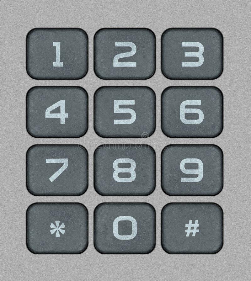 Download Numeric Keypad stock illustration. Image of redial, bitmap - 34097957