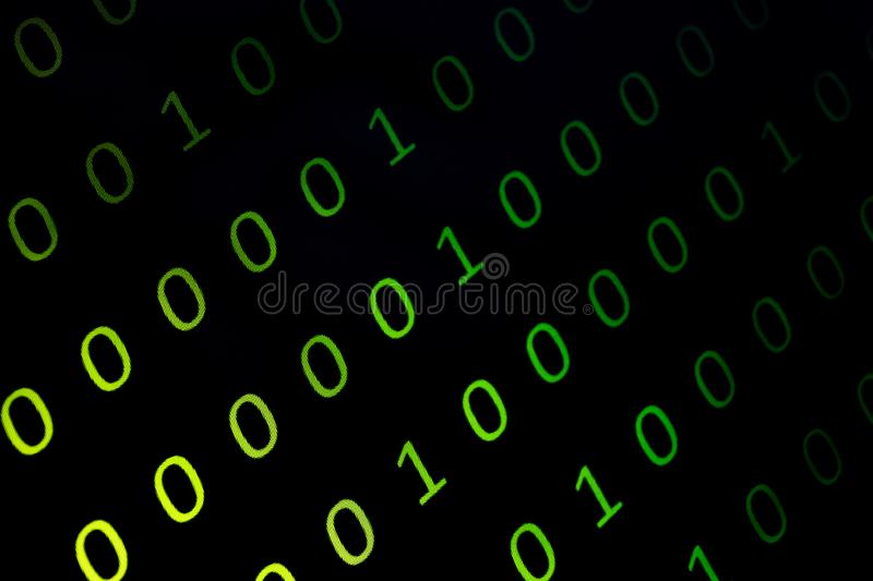 Numerical continuous, abctract data in binary code, give technology felling. Numerical continuous in double tones, abctract data in binary code, shoot in the stock images