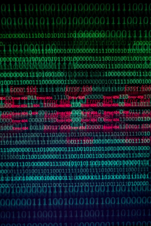 Binary Code Error Stock Images - Download 372 Royalty Free