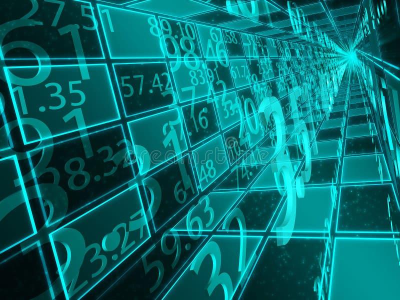 Numerical operations stock illustration