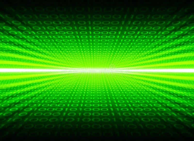 Numerieke achtergrond vector illustratie