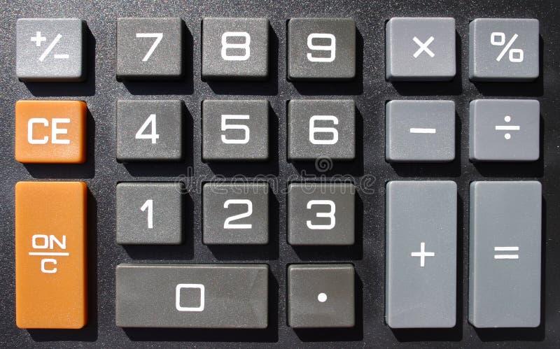 Numerieke sleutels royalty-vrije stock fotografie