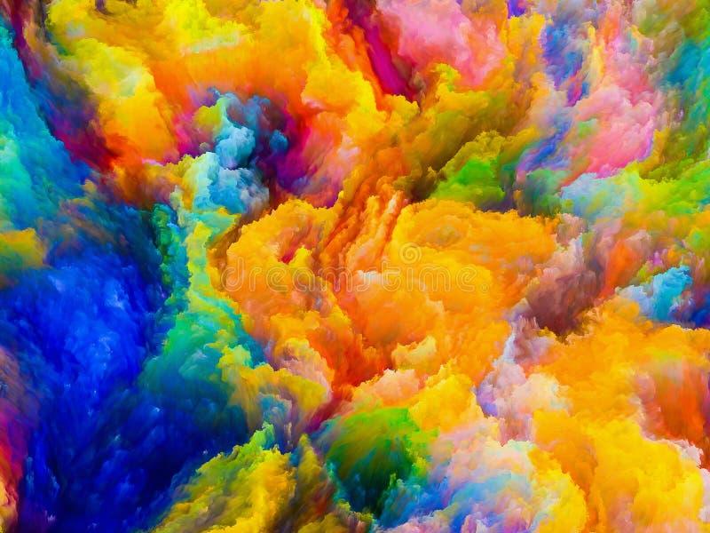 Numerische Farben stock abbildung