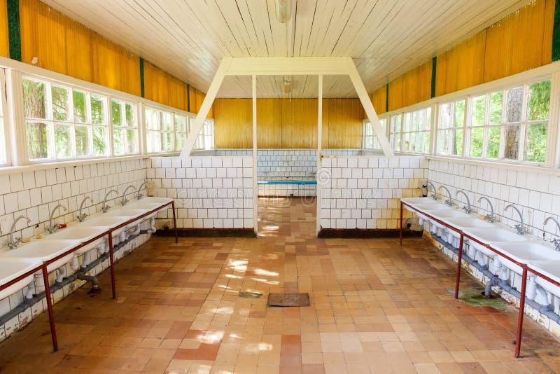 Numero dei rubinetti del bagno fotografie stock libere da diritti