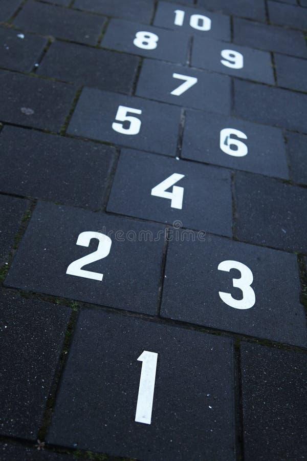 Nummer royaltyfria bilder
