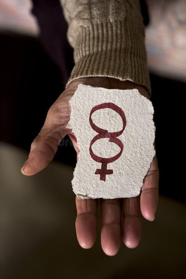 Nummer 8, voor 8 maart, de dag van de vrouwen stock afbeelding