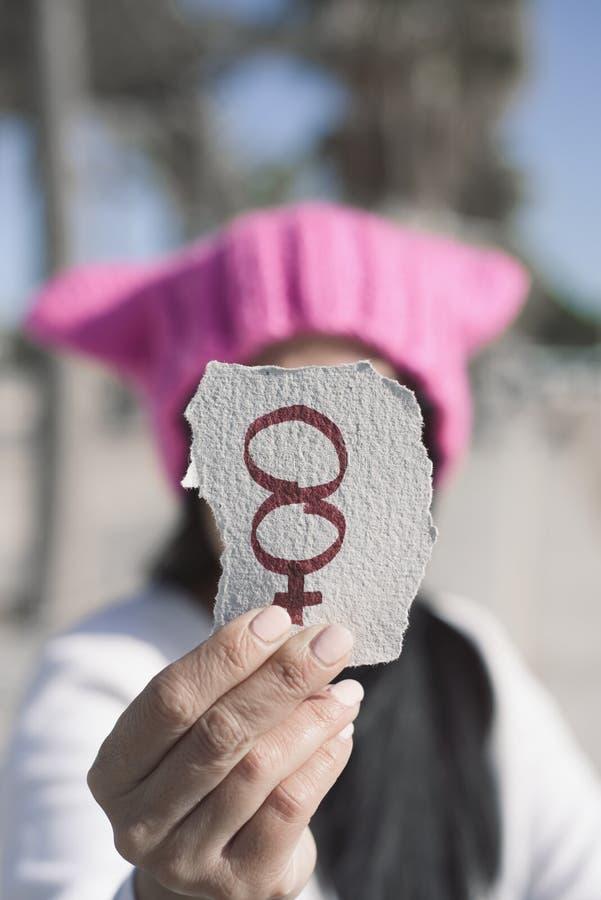 Nummer 8, voor 8 maart, de dag van de vrouwen stock fotografie