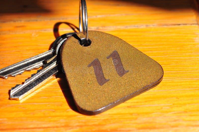 nummeretikett för 11 tangenter royaltyfria bilder