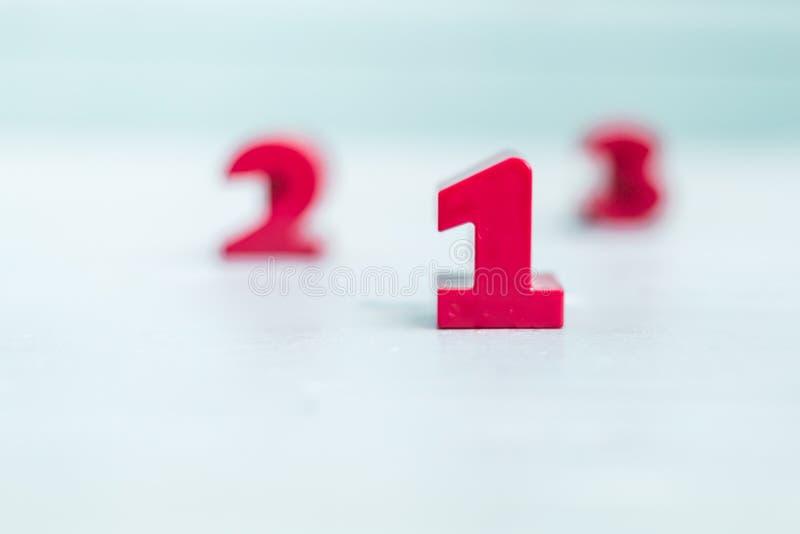 123 nummerkvarter för barns utbildning arkivfoton