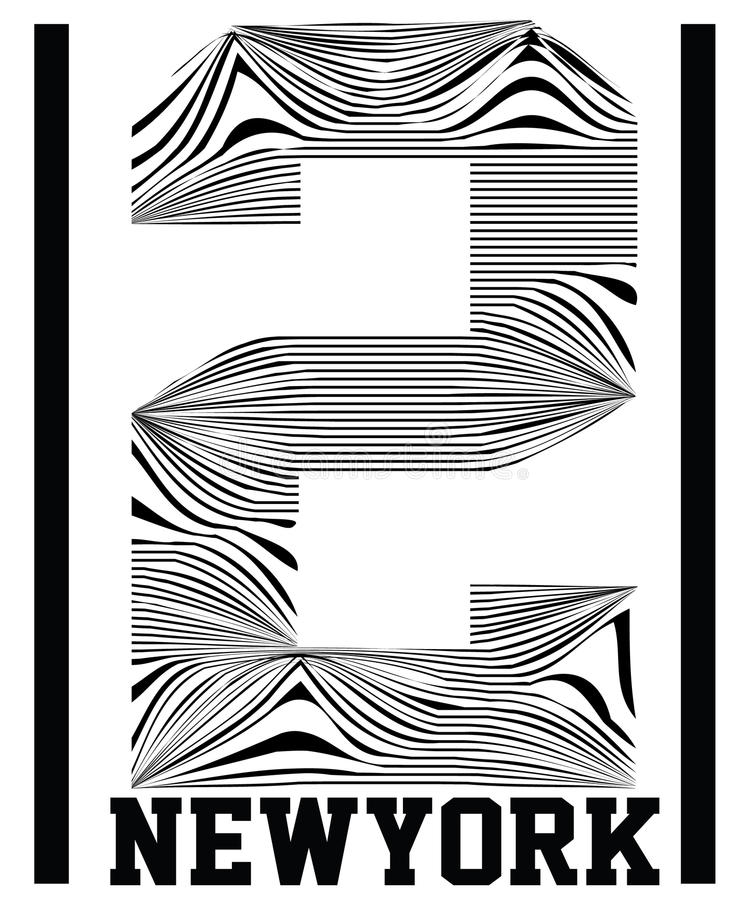 Numrera typografi, t-skjortan diagram, vektorer, sport, stock illustrationer