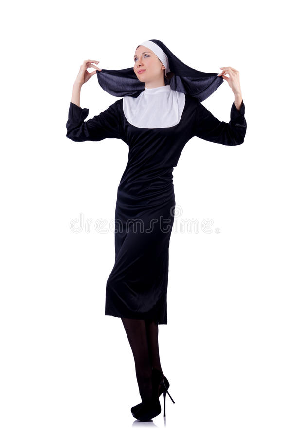 Download Nun isolated stock photo. Image of christian, dress, christianity - 29670736