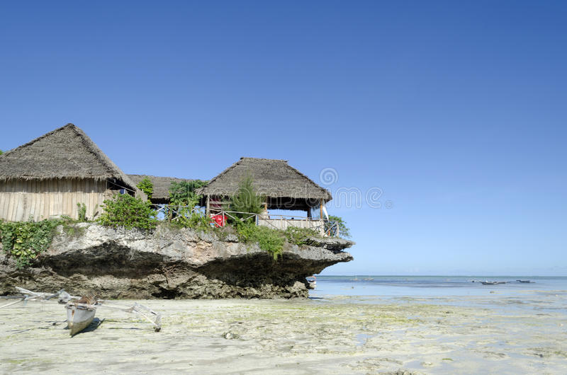 Nungwi plaża fotografia stock