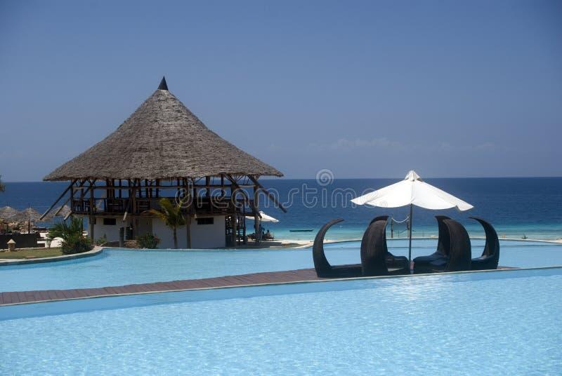 nungwi raj Tanzania Zanzibar zdjęcie royalty free