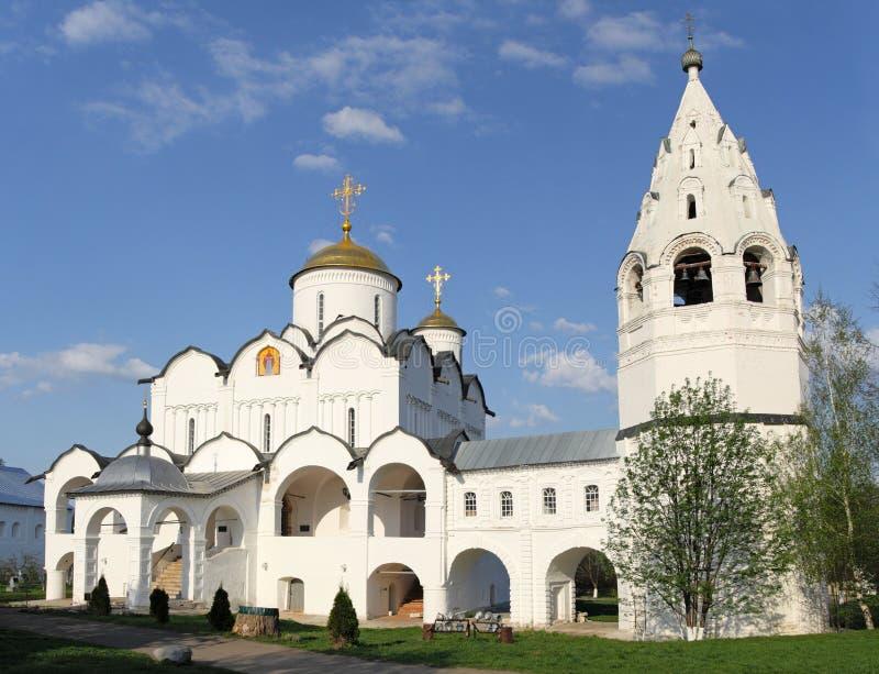 nunnery повелительницы intercession наша Россия s стоковые фотографии rf