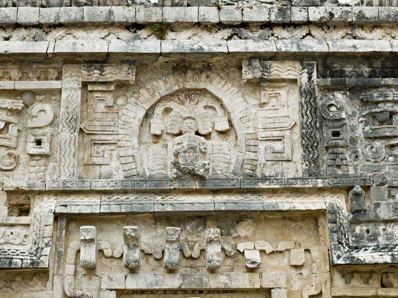 The Nunnery, Chichen Itza. Mexico royalty free stock photos