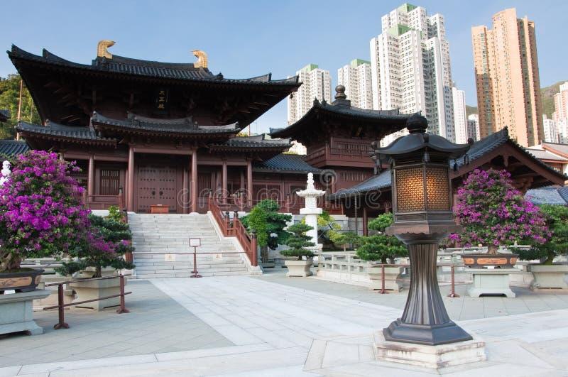 Nunnery de Lin do qui, Hong Kong. foto de stock