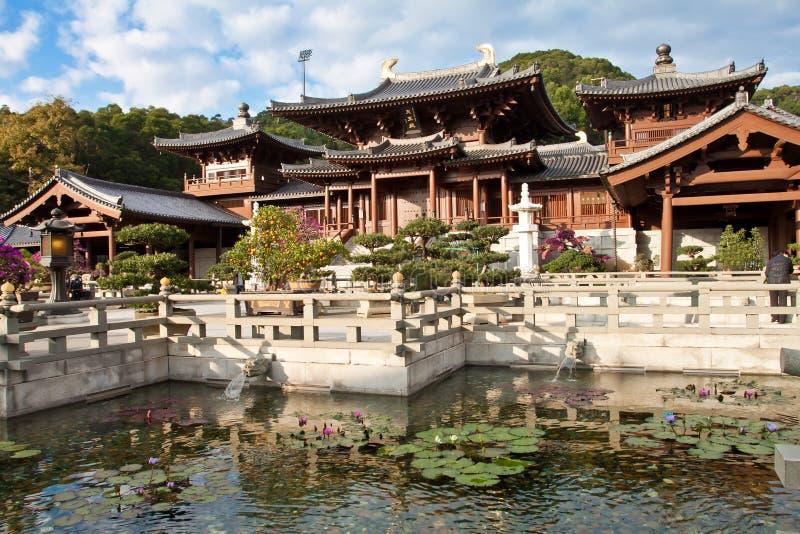 Nunnery de Lin do qui, Hong Kong fotos de stock royalty free