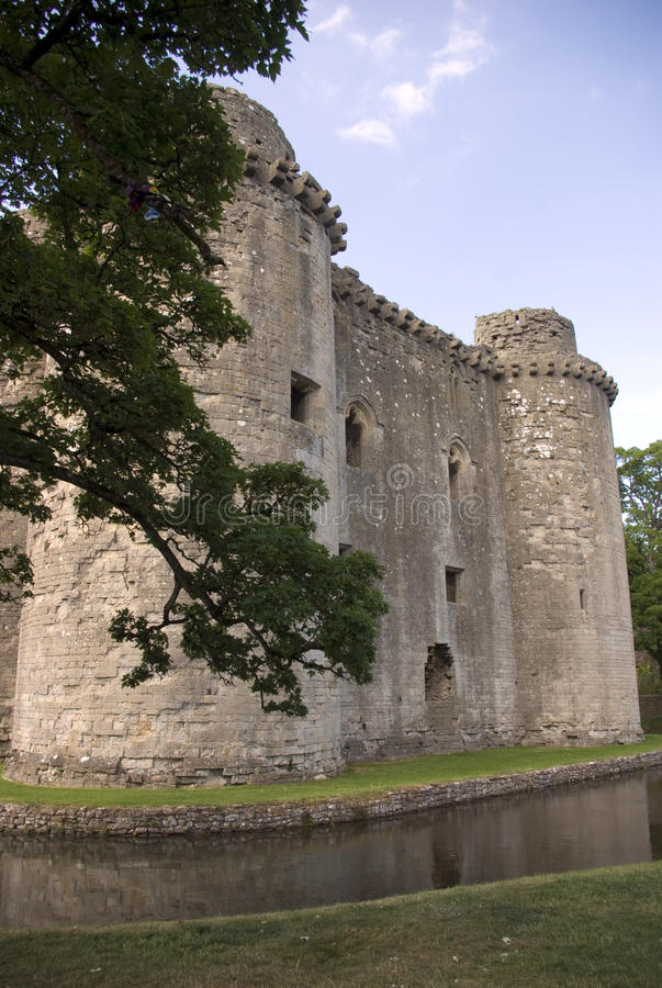 Download Nunney Castle stock image. Image of home, architectural - 19798961