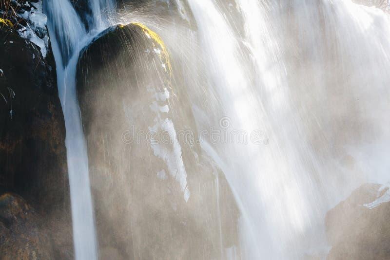 Nuorilang siklawa, Jiuzhaigou rezerwat przyrody zdjęcia stock
