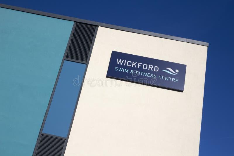 Nuotata di Wickford e centro di forma fisica, Wickford, Essex, Inghilterra fotografie stock libere da diritti