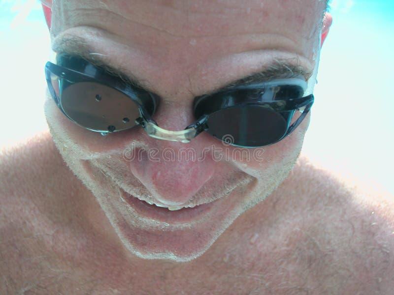 Nuotatore Impregnato Fotografia Stock Libera da Diritti