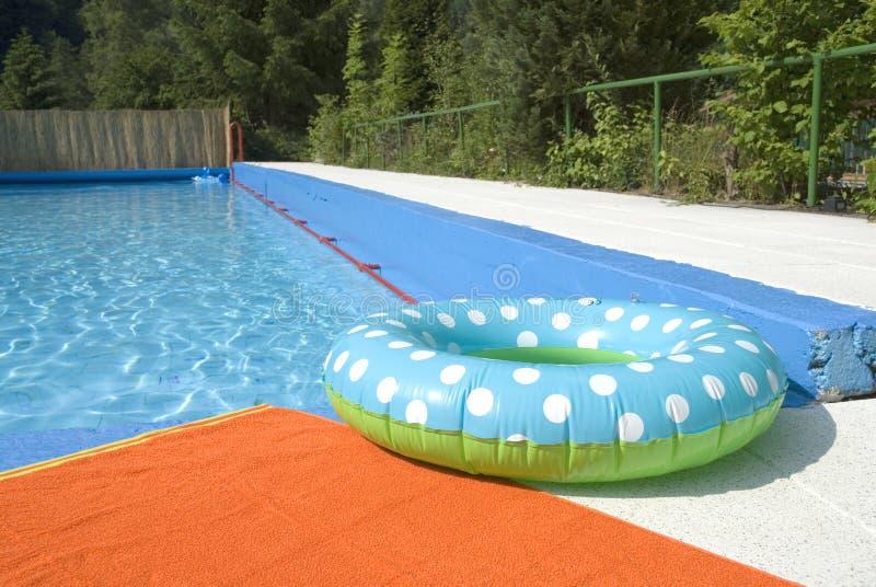 Nuoto-fascia immagine stock