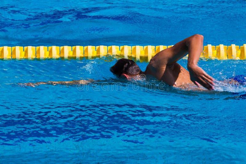 Nuoto - immagine di riserva fotografia stock