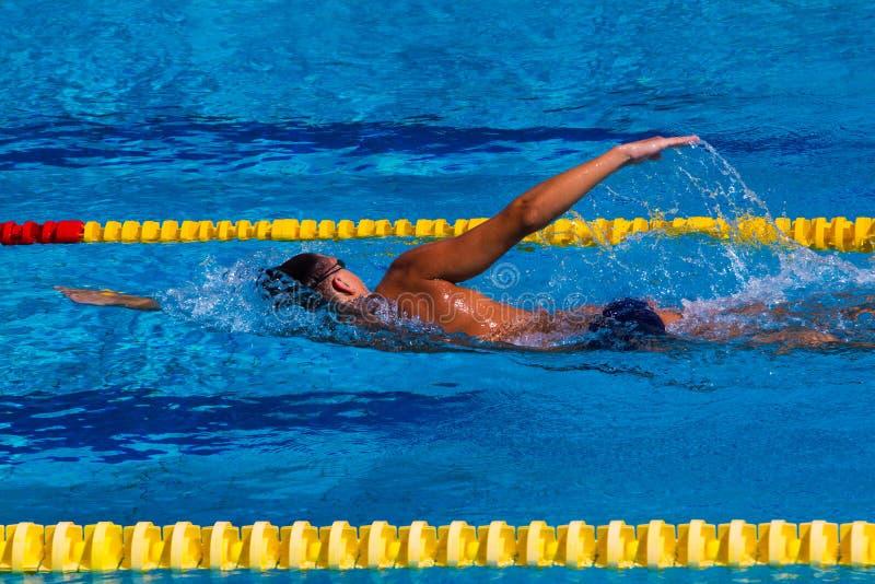 Nuoto - immagine di riserva fotografie stock libere da diritti