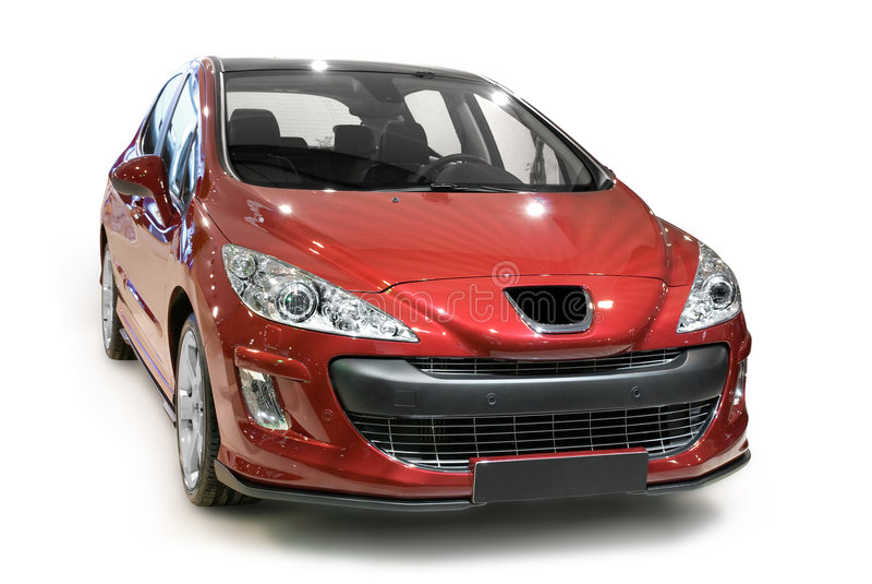 Nuova automobile di modello immagine stock