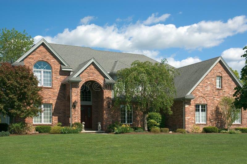 Nuova casa 120 fotografie stock