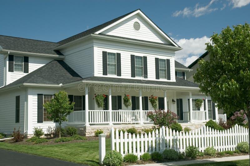 Nuova casa 122 fotografia stock