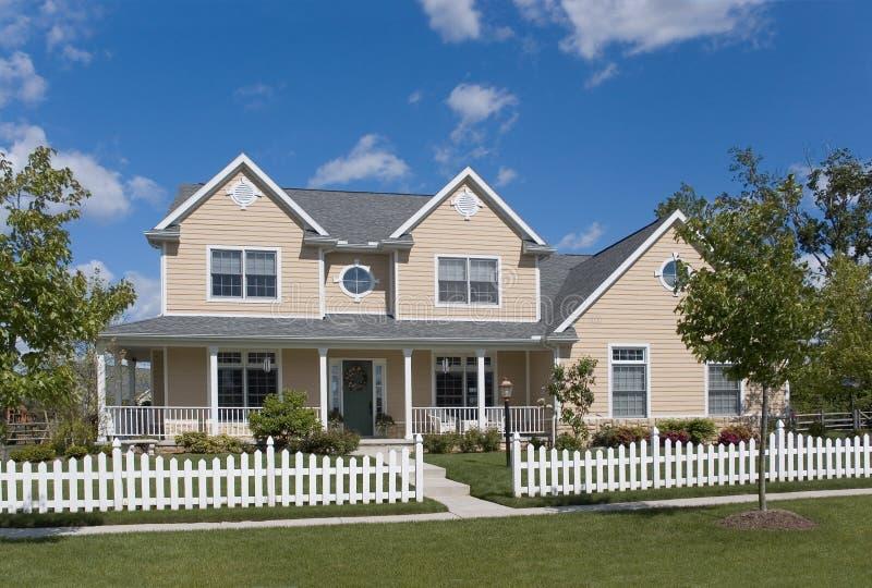 Nuova casa 125 fotografie stock