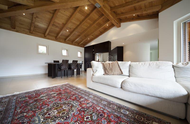 Nuova casa bella immagini stock