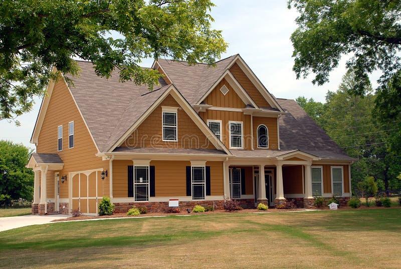 Nuova casa da vendere fotografie stock