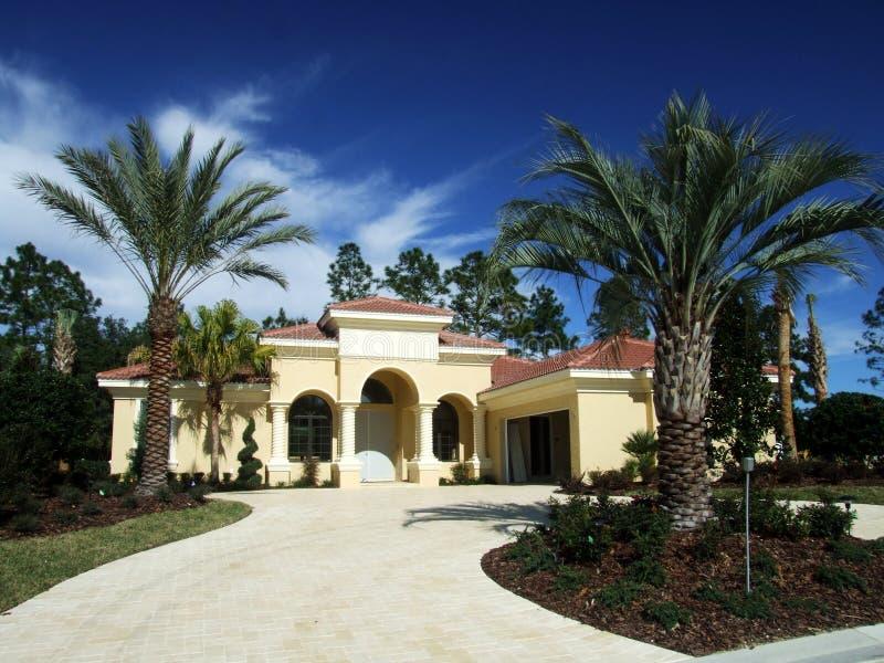 Nuova casa della Florida fotografie stock libere da diritti