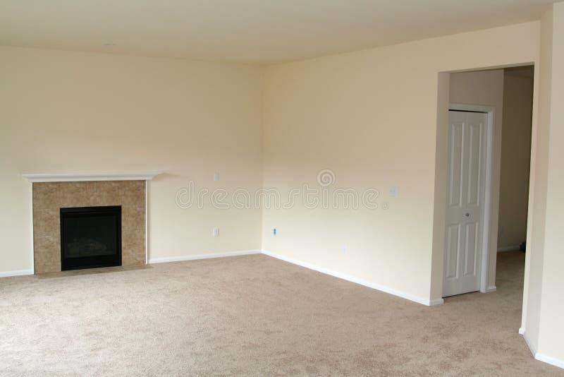 Nuova casa della stanza vuota fotografie stock libere da diritti