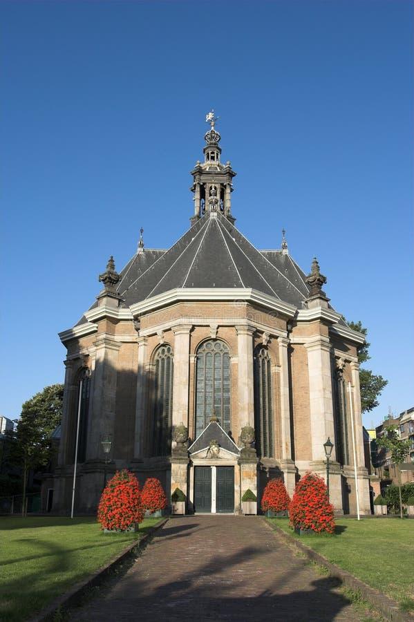 Nuova chiesa L'aia/tana Haag kerk di Nieuwe fotografia stock