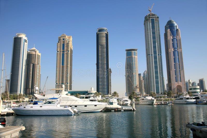 Nuova città della Doubai fotografia stock