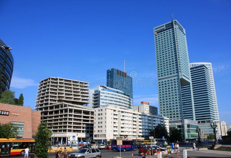 Nuova città di Varsavia fotografia stock